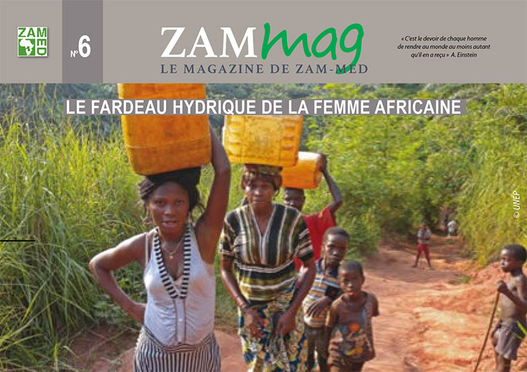 Couverture magazine ZamMag numéro 6
